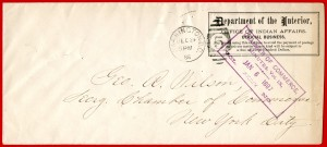 Office of Indian Affairs Official Mail Penalty Cover